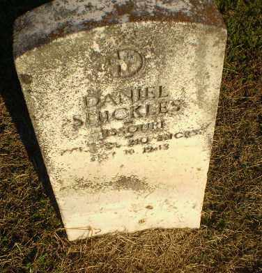 SHICKLES  (VETERAN), DANIEL - Clay County, Arkansas | DANIEL SHICKLES  (VETERAN) - Arkansas Gravestone Photos