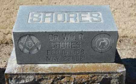 SHORES, WM. R. - Clay County, Arkansas | WM. R. SHORES - Arkansas Gravestone Photos