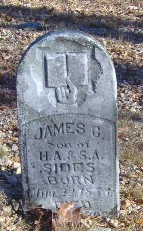 SIDES, JAMES C. - Clay County, Arkansas | JAMES C. SIDES - Arkansas Gravestone Photos