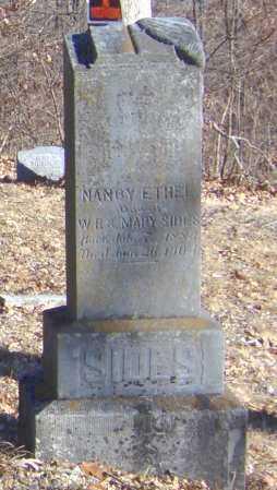 SIDES, NANCY ETHEL - Clay County, Arkansas | NANCY ETHEL SIDES - Arkansas Gravestone Photos