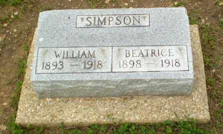 SIMPSON, BEATRICE - Clay County, Arkansas | BEATRICE SIMPSON - Arkansas Gravestone Photos