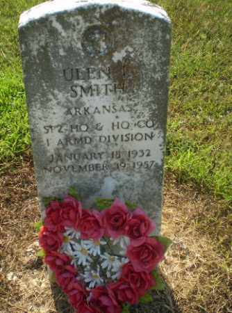 SMITH  (VETERAN), ULEN L - Clay County, Arkansas | ULEN L SMITH  (VETERAN) - Arkansas Gravestone Photos