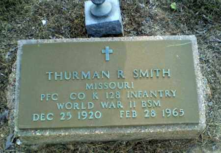 SMITH  (VETERAN WWII), THURMAN R - Clay County, Arkansas | THURMAN R SMITH  (VETERAN WWII) - Arkansas Gravestone Photos