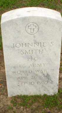 SMITH  (VETERAN WWII), JOHNNIE S. - Clay County, Arkansas | JOHNNIE S. SMITH  (VETERAN WWII) - Arkansas Gravestone Photos