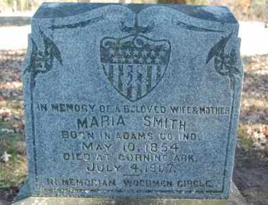 SMITH, MARIA - Clay County, Arkansas | MARIA SMITH - Arkansas Gravestone Photos