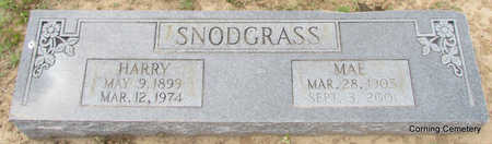 SNODGRASS, MAE - Clay County, Arkansas | MAE SNODGRASS - Arkansas Gravestone Photos