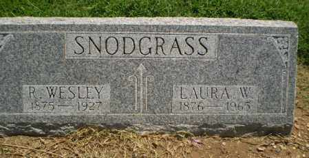 SNODGRASS, LAURA W - Clay County, Arkansas | LAURA W SNODGRASS - Arkansas Gravestone Photos