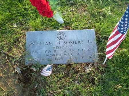 SOMERS JR. (VETERAN WWII), WILLIAM H - Clay County, Arkansas | WILLIAM H SOMERS JR. (VETERAN WWII) - Arkansas Gravestone Photos