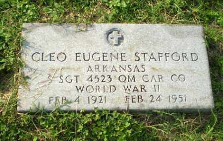 STAFFORD  (VETERAN WWII), CLEO EUGENE - Clay County, Arkansas | CLEO EUGENE STAFFORD  (VETERAN WWII) - Arkansas Gravestone Photos
