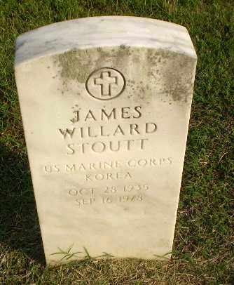 STOUTT  (VETERAN KOR), JAMES WILLARD - Clay County, Arkansas | JAMES WILLARD STOUTT  (VETERAN KOR) - Arkansas Gravestone Photos