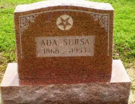 SURSA, ADA - Clay County, Arkansas | ADA SURSA - Arkansas Gravestone Photos