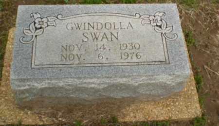 SWAN, GWINDOLLA - Clay County, Arkansas | GWINDOLLA SWAN - Arkansas Gravestone Photos