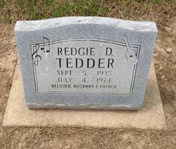 TEDDER, REDGIE D. - Clay County, Arkansas | REDGIE D. TEDDER - Arkansas Gravestone Photos