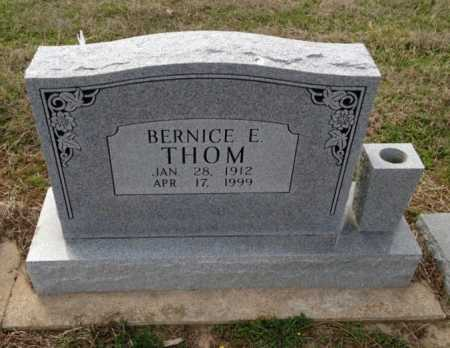 THOM, BERNICE E - Clay County, Arkansas | BERNICE E THOM - Arkansas Gravestone Photos