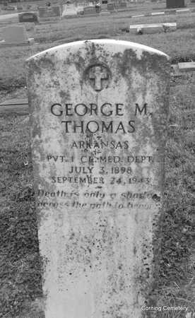 THOMAS  (VETERAN), GEORGE M - Clay County, Arkansas | GEORGE M THOMAS  (VETERAN) - Arkansas Gravestone Photos
