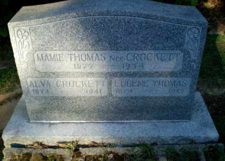 CROCKETT THOMAS, MAMIE - Clay County, Arkansas | MAMIE CROCKETT THOMAS - Arkansas Gravestone Photos