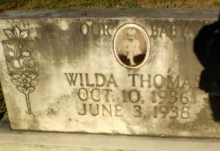 THOMAS, WILDA - Clay County, Arkansas | WILDA THOMAS - Arkansas Gravestone Photos