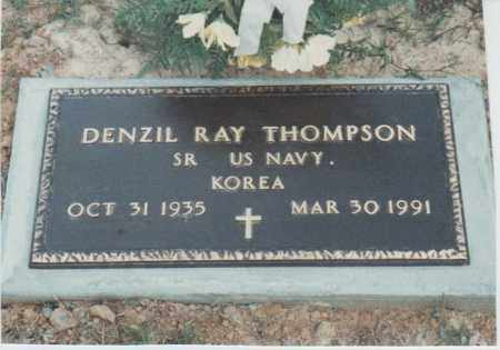THOMPSON, DENZIL RAY - Clay County, Arkansas | DENZIL RAY THOMPSON - Arkansas Gravestone Photos