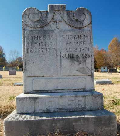 TOLER, SUSAN M. - Clay County, Arkansas | SUSAN M. TOLER - Arkansas Gravestone Photos