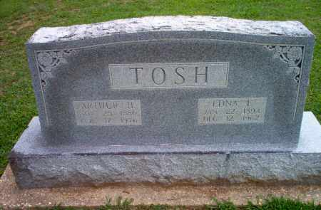 TOSH, EDNA F - Clay County, Arkansas | EDNA F TOSH - Arkansas Gravestone Photos