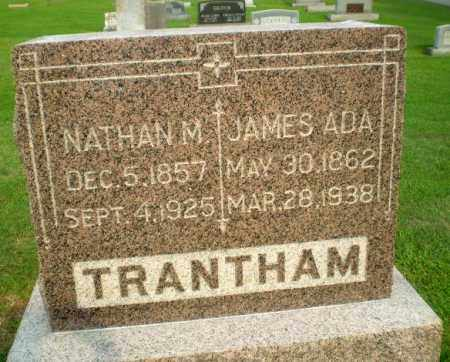 TRANTHAM, NATHAN M - Clay County, Arkansas | NATHAN M TRANTHAM - Arkansas Gravestone Photos