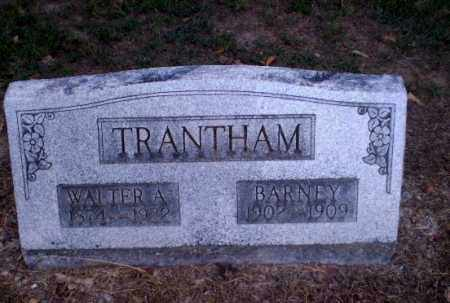 TRANTHAM, WALTER A - Clay County, Arkansas | WALTER A TRANTHAM - Arkansas Gravestone Photos