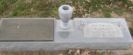 TRELOGGEN, OMA VERNEAL - Clay County, Arkansas | OMA VERNEAL TRELOGGEN - Arkansas Gravestone Photos