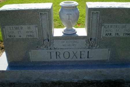 TROXEL, GERTRUDE M - Clay County, Arkansas | GERTRUDE M TROXEL - Arkansas Gravestone Photos