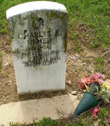 ULMER  (VETERAN), CHARLES - Clay County, Arkansas | CHARLES ULMER  (VETERAN) - Arkansas Gravestone Photos