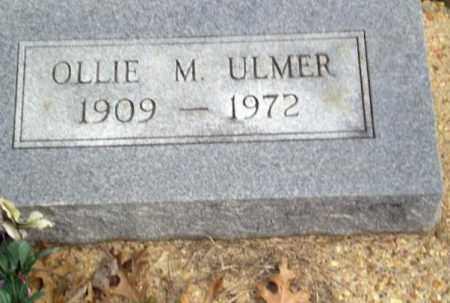 ULMER, OLLIE M. - Clay County, Arkansas | OLLIE M. ULMER - Arkansas Gravestone Photos