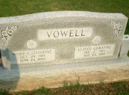 VOWELL, LLOYD GERAYNE - Clay County, Arkansas | LLOYD GERAYNE VOWELL - Arkansas Gravestone Photos