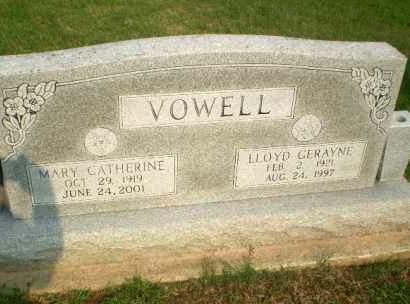 VOWELL, MARY CATHERINE - Clay County, Arkansas | MARY CATHERINE VOWELL - Arkansas Gravestone Photos