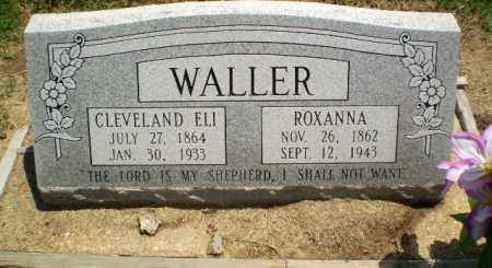 WALLER, ROXANNA - Clay County, Arkansas | ROXANNA WALLER - Arkansas Gravestone Photos