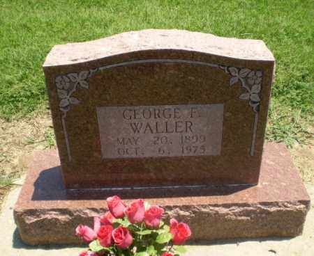 WALLER, GEORGE F - Clay County, Arkansas | GEORGE F WALLER - Arkansas Gravestone Photos