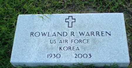 WARREN  (VETERAN KOR), ROWLAND R - Clay County, Arkansas | ROWLAND R WARREN  (VETERAN KOR) - Arkansas Gravestone Photos