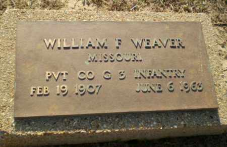 WEAVER (VETERAN), WILLIAM - Clay County, Arkansas | WILLIAM WEAVER (VETERAN) - Arkansas Gravestone Photos