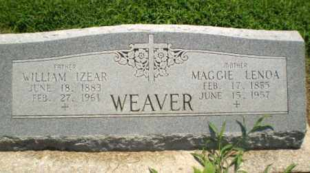 WEAVER, MAGGIE LENOA - Clay County, Arkansas | MAGGIE LENOA WEAVER - Arkansas Gravestone Photos