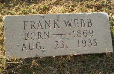 WEBB, FRANK - Clay County, Arkansas | FRANK WEBB - Arkansas Gravestone Photos