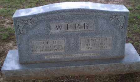 WEBB, BRYCE R - Clay County, Arkansas | BRYCE R WEBB - Arkansas Gravestone Photos