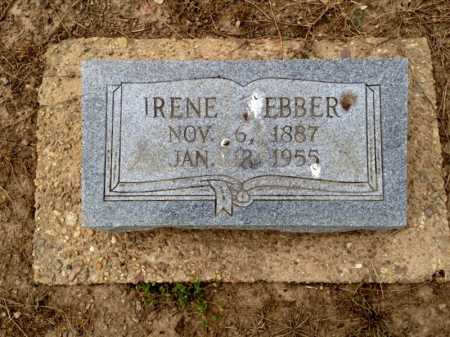 WEBBER, IRENE - Clay County, Arkansas | IRENE WEBBER - Arkansas Gravestone Photos