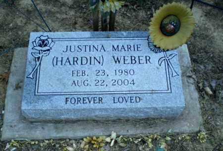 WEBER, JUSTINA MARIE - Clay County, Arkansas | JUSTINA MARIE WEBER - Arkansas Gravestone Photos