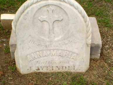 WEINDEL, ANNA MARIA - Clay County, Arkansas | ANNA MARIA WEINDEL - Arkansas Gravestone Photos