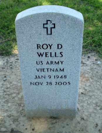 WELLS  (VETERAN VIET), ROY D - Clay County, Arkansas | ROY D WELLS  (VETERAN VIET) - Arkansas Gravestone Photos