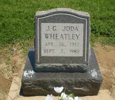 "WHEATLEY, J.G. ""JODA"" - Clay County, Arkansas 