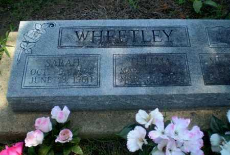 WHEETLEY, SARAH - Clay County, Arkansas | SARAH WHEETLEY - Arkansas Gravestone Photos