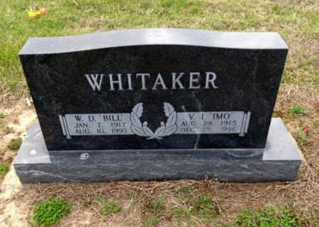 WHITAKER, BILL - Clay County, Arkansas | BILL WHITAKER - Arkansas Gravestone Photos