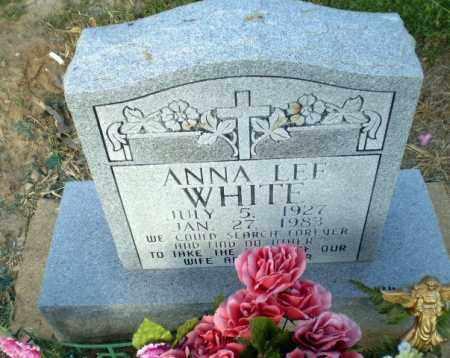 WHITE, ANNA LEE - Clay County, Arkansas   ANNA LEE WHITE - Arkansas Gravestone Photos