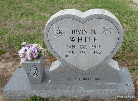 WHITE, IRVIN N - Clay County, Arkansas | IRVIN N WHITE - Arkansas Gravestone Photos