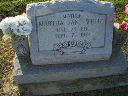 WHITE, MARTHA JANE - Clay County, Arkansas | MARTHA JANE WHITE - Arkansas Gravestone Photos