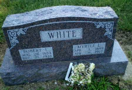 WHITE, MYRTLE L - Clay County, Arkansas | MYRTLE L WHITE - Arkansas Gravestone Photos
